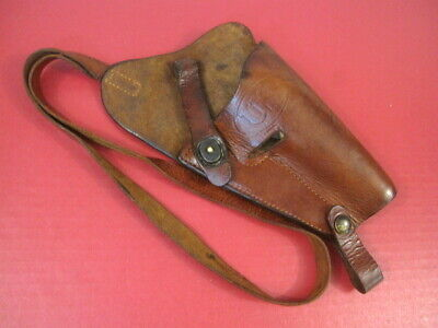 WWII US M3 Leather Shoulder Holster Marked: US Boyt Colt M1911A1 45acp NICE ID'd