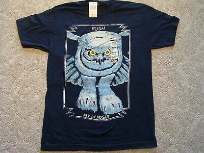 RUSH Fly By Night T-Shirt NEW Adult Medium New with Tags