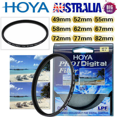 Hoya 49/52/55/58/62/72/77/82mm Pro1 UV DMC LP Digital Filter Multicoated Pro 1D