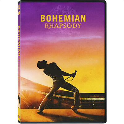 Bohemian Rhapsody DVD, New, Sealed