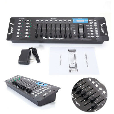 DMX 512 192Ch LED Operator Controller Console for Stage DJ Party Lighting Lamp
