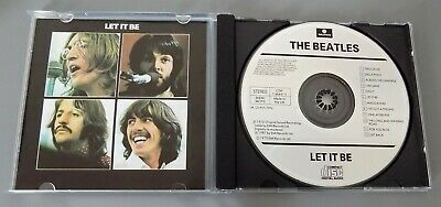 The Beatles - Let It Be Cd Digitally Remastered 1987 Cdp 7 464472 Brand New