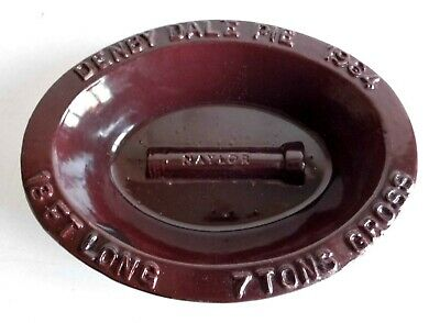 Very Rare Denby Dale Pie Dish - Naylor's Pipe Works - 1964 - Rarer Than Plate