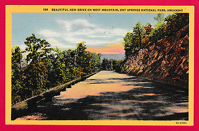 Beautiful new drive on west mou tain, Hot Springs National Park, Arkansas, U.S.