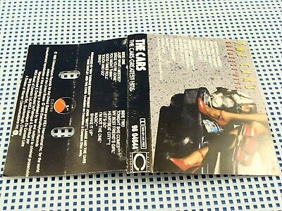 """THE CARS - Greatest Hits - 1985 VG++ CASSETTE - """"Let's Go / Just What I Needed"""""""