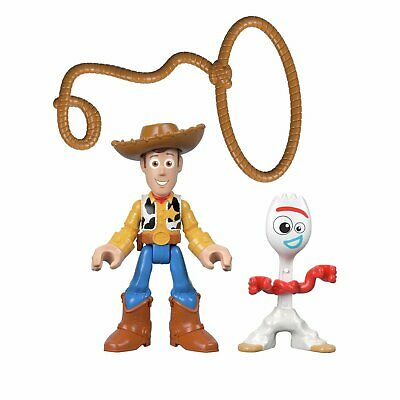 Disney Pixar Toy Story 4  Imaginext Woody & Forky - 2 Pack