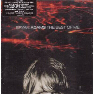 BRYAN ADAMS Best Of Me CD UK A&M 16 Track (4909222)