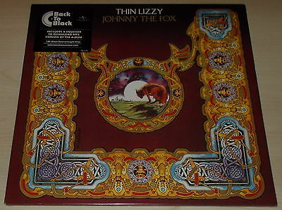THIN LIZZY-JOHNNY THE FOX-2014 180g VINYL LP+DOWNLOAD-PHIL LYNOTT-NEW & SEALED
