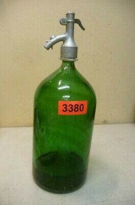 3380.  Alte Sodaflasche  Siphonflasche 2 L  Old Soda Siphon Seltzer Bottle