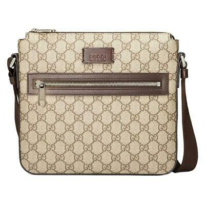 bacdaf7d6bf8f New Gucci Supreme Gg Guccissima Brown Small Messenger Cross Body Bag
