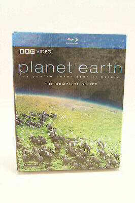 Planet Earth The Complete Series Blu-Ray DVD Movie BBC Video 4 Discs 2007