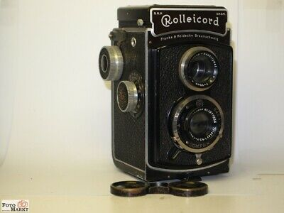 Rolleicord Ia Model 1 (K3-520) Lens Triotar 4,5 F=7,5cm (1936 only 9459 St