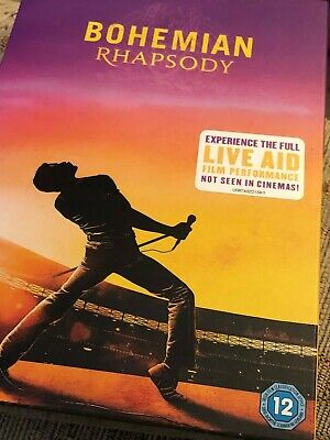 BOHEMIAN RHAPSODY [DVD 2019] NEW [Inc The FULL Live Aid Gig NOT seen in cinemas]
