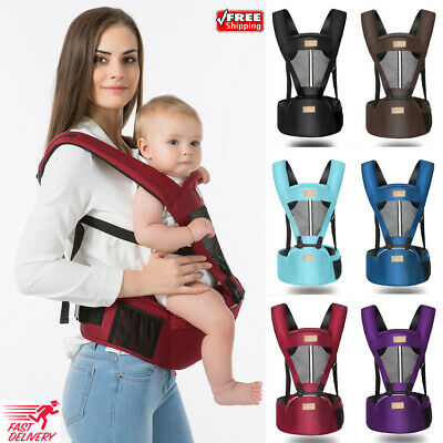 Baby Carrier With Hip Seat Removable Multifunctional Waist Support Stool Strap