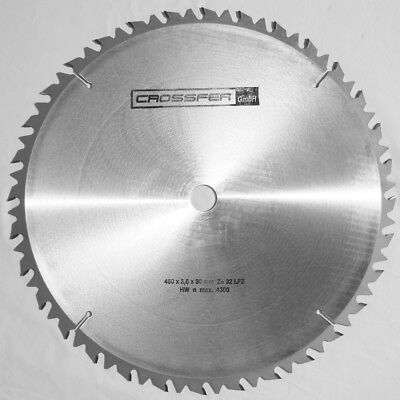 lame de scie au circulare carbure Hm 450mmx30mm Z32 Made in Germany