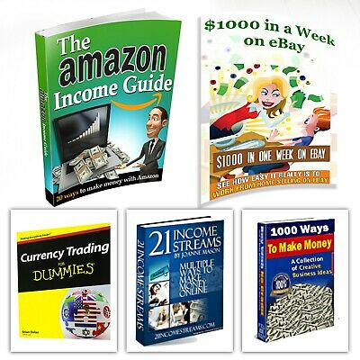 Amazon Income Guide and $1000 In a One Week - with 4 PDF eBook+MRR Free Delivery