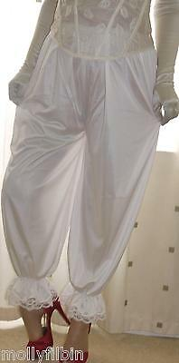Vintage inspired Victorian~Edwardian style cream bloomers~culottes