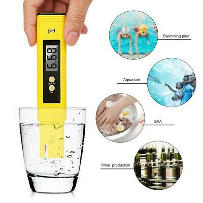 Digital Portable PH Meter Quality Tester Pen for Household Drinking Water Purity
