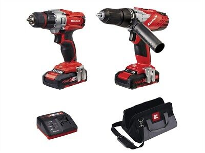 Einhell - Power-X-Change Combi & Drill Driver Twin Pack 18 V