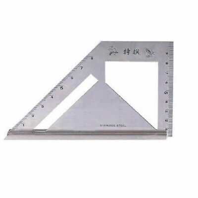SB Corp MT-4590 Square Meter Angle Protractor Carpenter Tool Stainless _SU