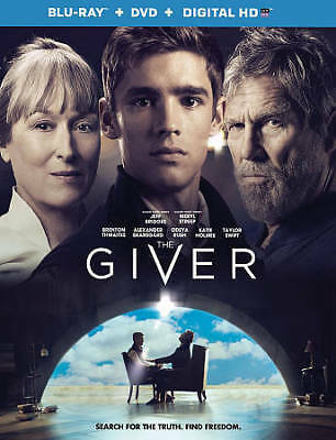 The Giver [Blu-ray + DVD + Digital HD]