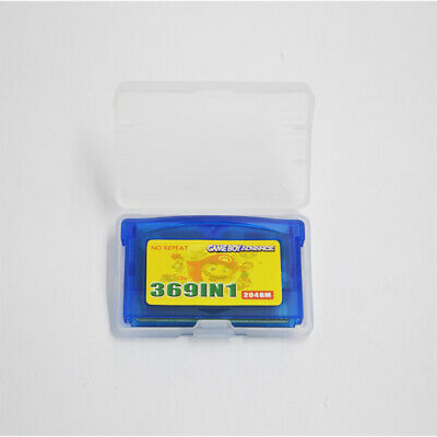 369 in 1 in1 GBA Games for Nintendo GBA SP NDS GameBoy Multicart Cartridge US
