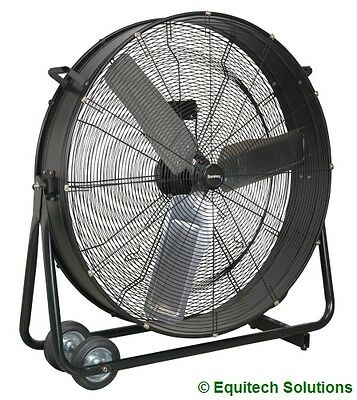 "Sealey Tools HVD36 Electric Industrial High Velocity Drum HVD Fan 36"" 2 Speed"