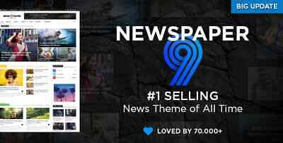 Newspaper The Best Selling News Theme (FREE UPDATES)