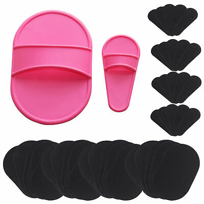 40x Exfoliating Hair Removal Pad Set Smooth Away Legs Skin Pads Arm Face Remover