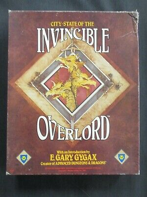 OEJ ~ AD&D ~ City-State of the Invincible Overlord ~ Box Set ~ Mayfair Games