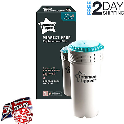 Tommee Tippee Perfect Prep Replacement Filter Single Or Twin Pack Bin Babies New