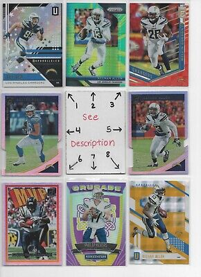 San Diego LA Chargers * Serial #'d Rookies Jerseys Autos * EVERY CARD IS A HIT *