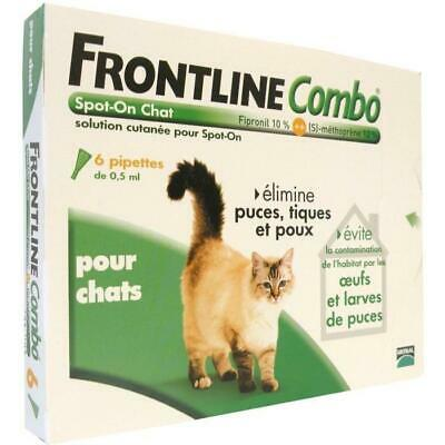 Combo 6x0.5ml - Pour chat