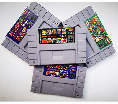 123in1*105in1*102in1 Not repeat With Saving Function SNES Classic Edition Games