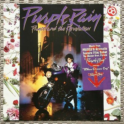 Prince And The Revolution ‎– Purple Rain 925 110-1 Germany NM- LP Tested Sticker