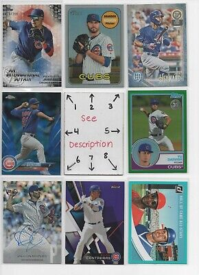 Chicago Cubs ** SERIAL #'d Rookies Autos Jerseys ** ALL CARDS ARE GOOD CARDS*