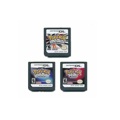 For Nintendo DS 3DS NDSi NDS Lite game card DS Pokemon Diamond Pearl Platinum