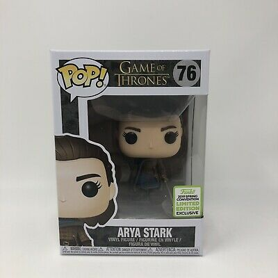 Funko Pop! Arya Stark #76 Game of Thrones ECCC Spring 2019 Box Lunch Exclusive A
