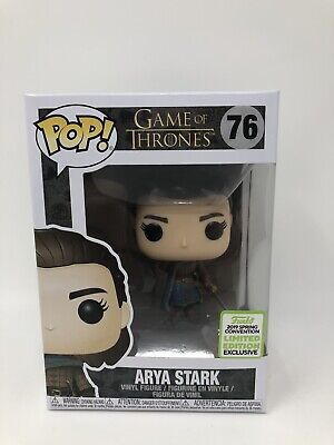 Funko Pop! Arya Stark #76 Game of Thrones ECCC Spring 2019 Box Lunch Exclusive B