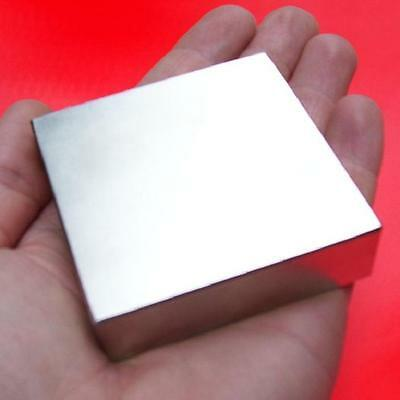 Super Power N52 NEODYM MAGNET 80x80x10mm 380kg QUADER HAFTMAGNET Magnet