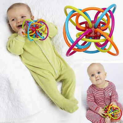 Newborn Infant Baby Hand Rattle Bell Develop Intelligence Ball Toy Gifts For Kid