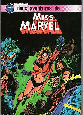 Miss Marvel Album 1 (1 Et 2) Aredit 1980  Superbe