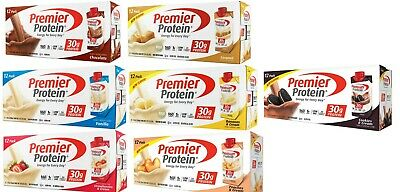"""Premier Protein High Protein Shake """" Available Six Flavor """"(11 fl. oz., 12 Pack)"""