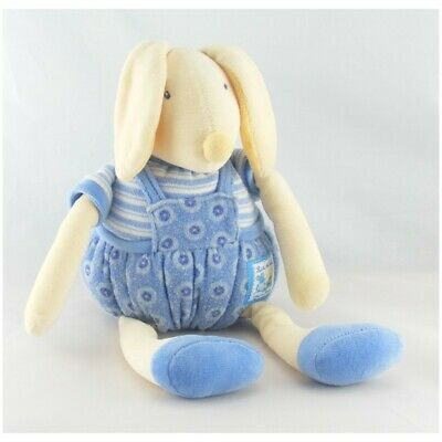 Doudou musical lapin bleu Lise et Lulu Moulin Roty - Lapin Sonore/vibrant