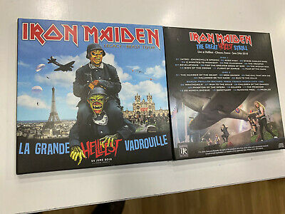Iron Maiden 2 Cd Live At Hellfest Festival France  24/06/2018  Sealed