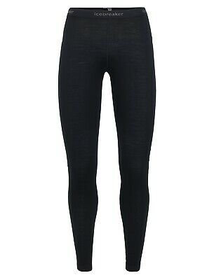 Icebreaker 200 Oasis Leggings Women Funktionshose Baselayer schwarz