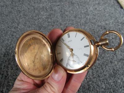 ANTIQUE signed 14k gold WALTHAM APPLETON TRACY #1453489 POCKET WATCH