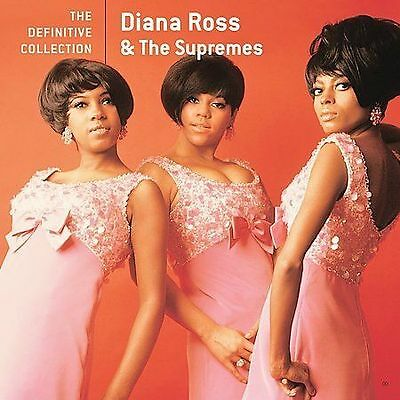 Definitive Collection By Diana Ross & The Supremes Cd 2009 Motown Music Album