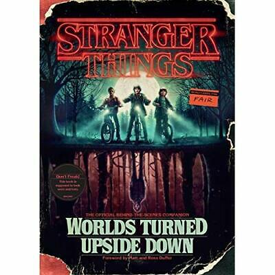 Stranger Things: Worlds Turned Upside Down: The Officia - Hardback NEW McIntyre,