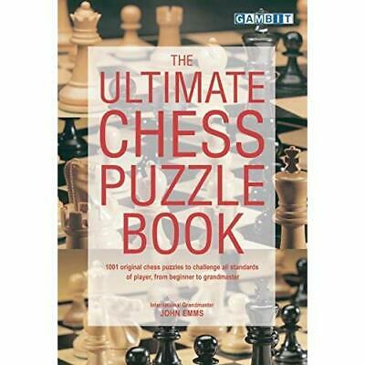 The Ultimate Chess Puzzle Book - Paperback NEW Emms, John 2000-10-18